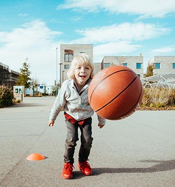 basketball boy ball