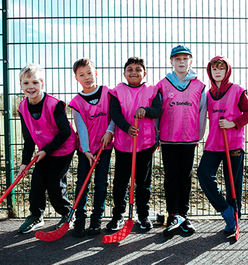hockey pink team