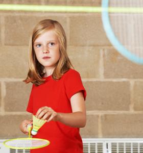 Badminton girl serving 353x378 1