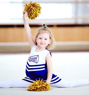 Cheerleading young girl uniform 353x378 1