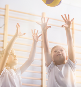 Volleyball boy girl ball 353x378 1