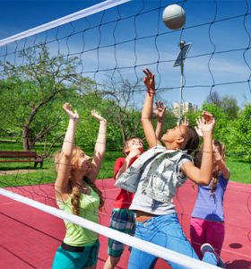 Volleyball game playing court 353x378 1