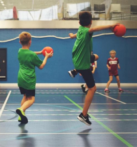 dodgeball activities with premier education