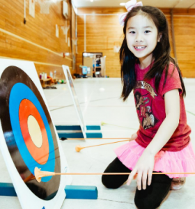 archery activities 2 with Premier Education
