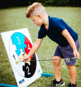 archery activities with Premier Education