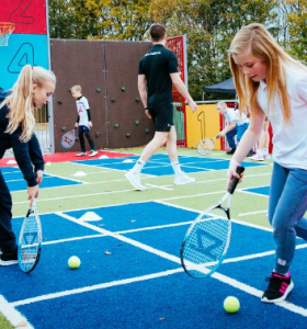 tennis activities 1 with Premier Education