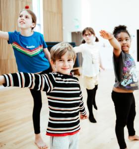Dance Gallery Children dancing