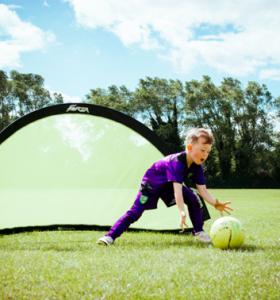 Football Gallery Child grabbing football